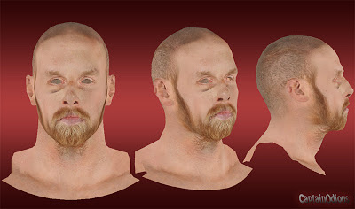 NBA 2K13 Chris Kaman Cyberface Mod
