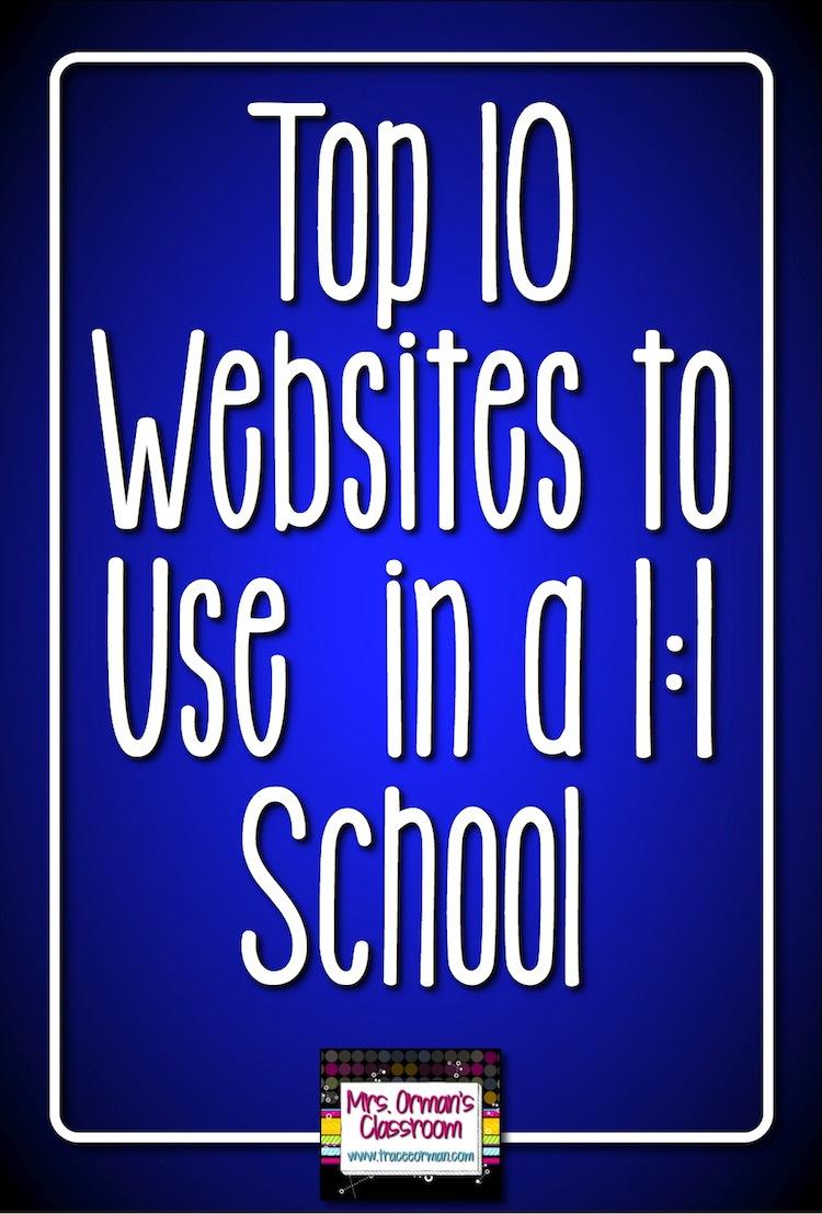 mrs orman s classroom top websites for schools top 10 websites for 1 1 schools