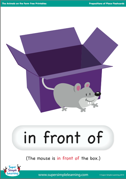 The English Cubby Prepositions Of Place Review