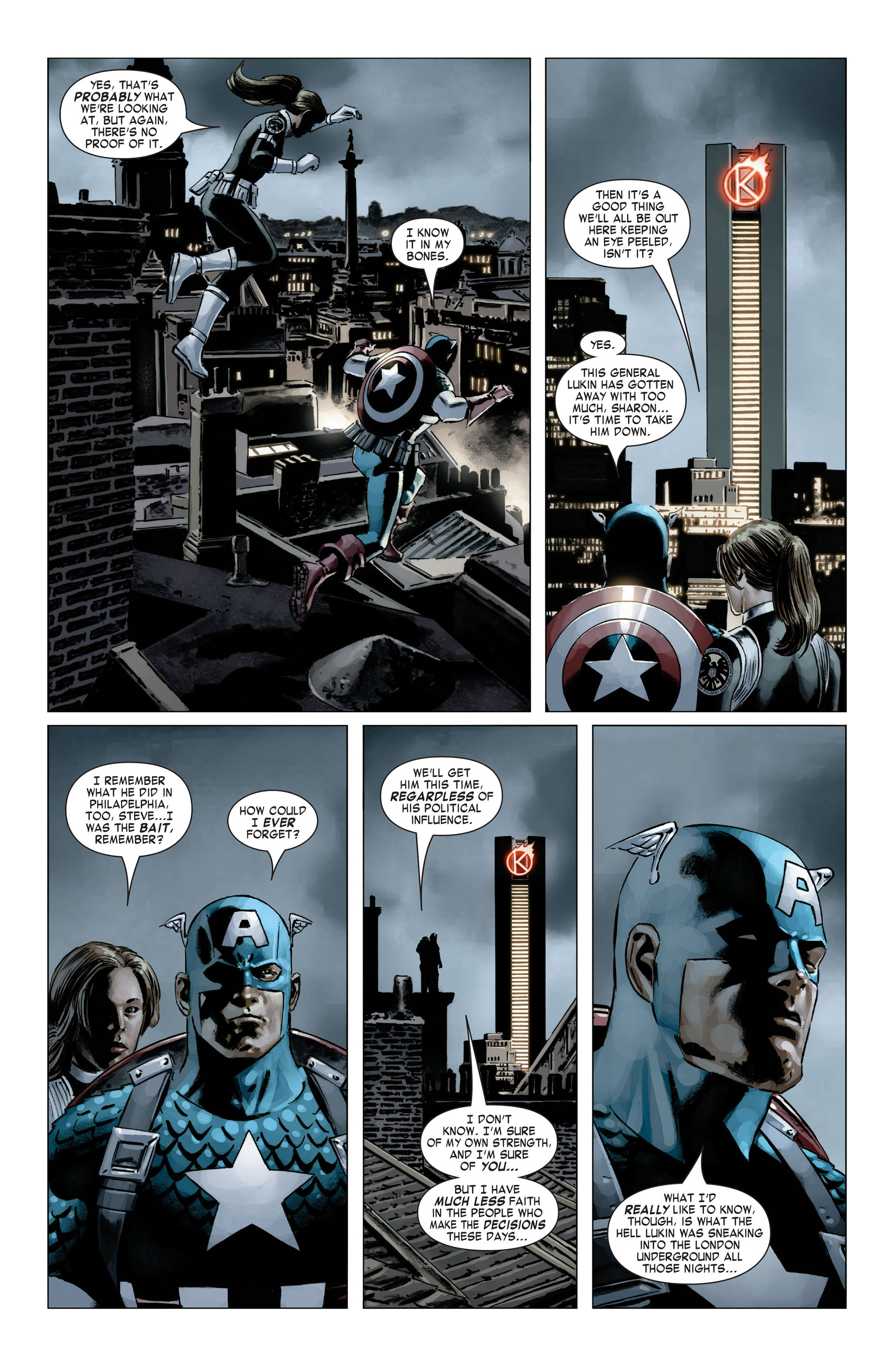 Captain America (2005) Issue #20 #20 - English 5