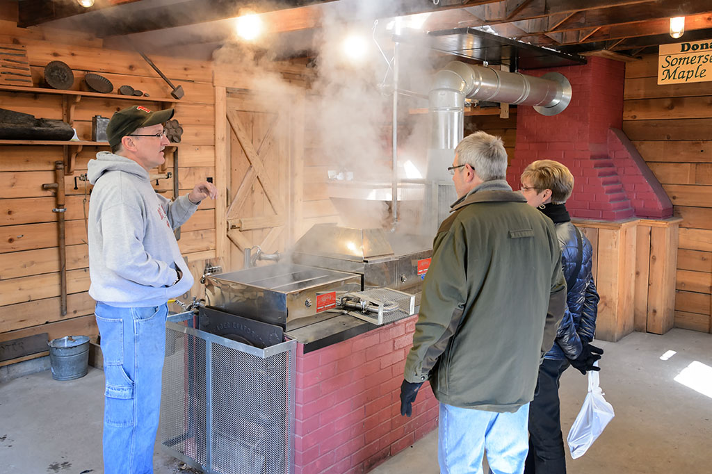 Making Maple Syrup - PA Maple Festival
