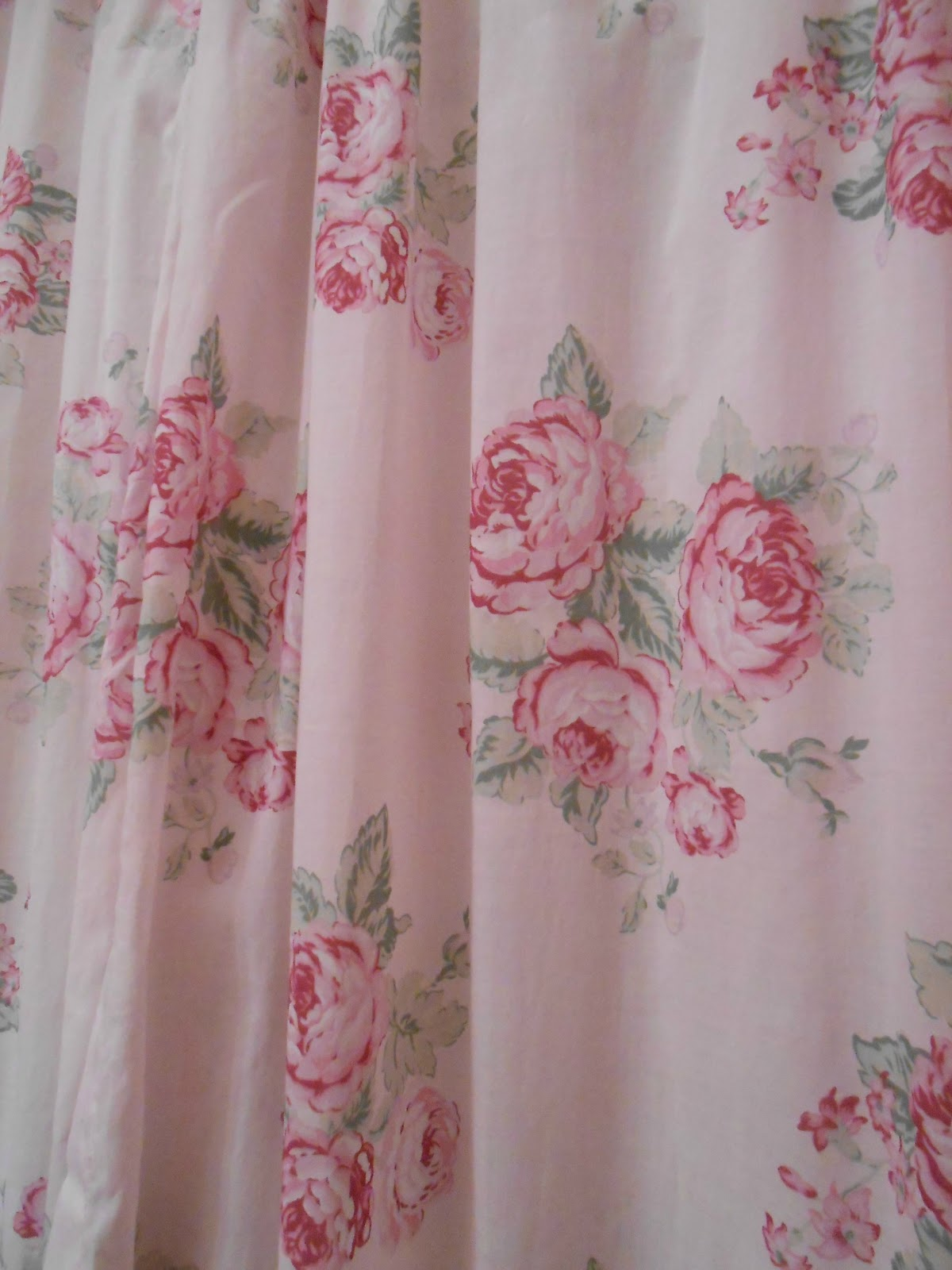 pink shower curtain viewing gallery