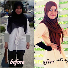 alhamdulillah... i lost3kgs in one month :) currently , i lost 5kgs in 6 weeks :)