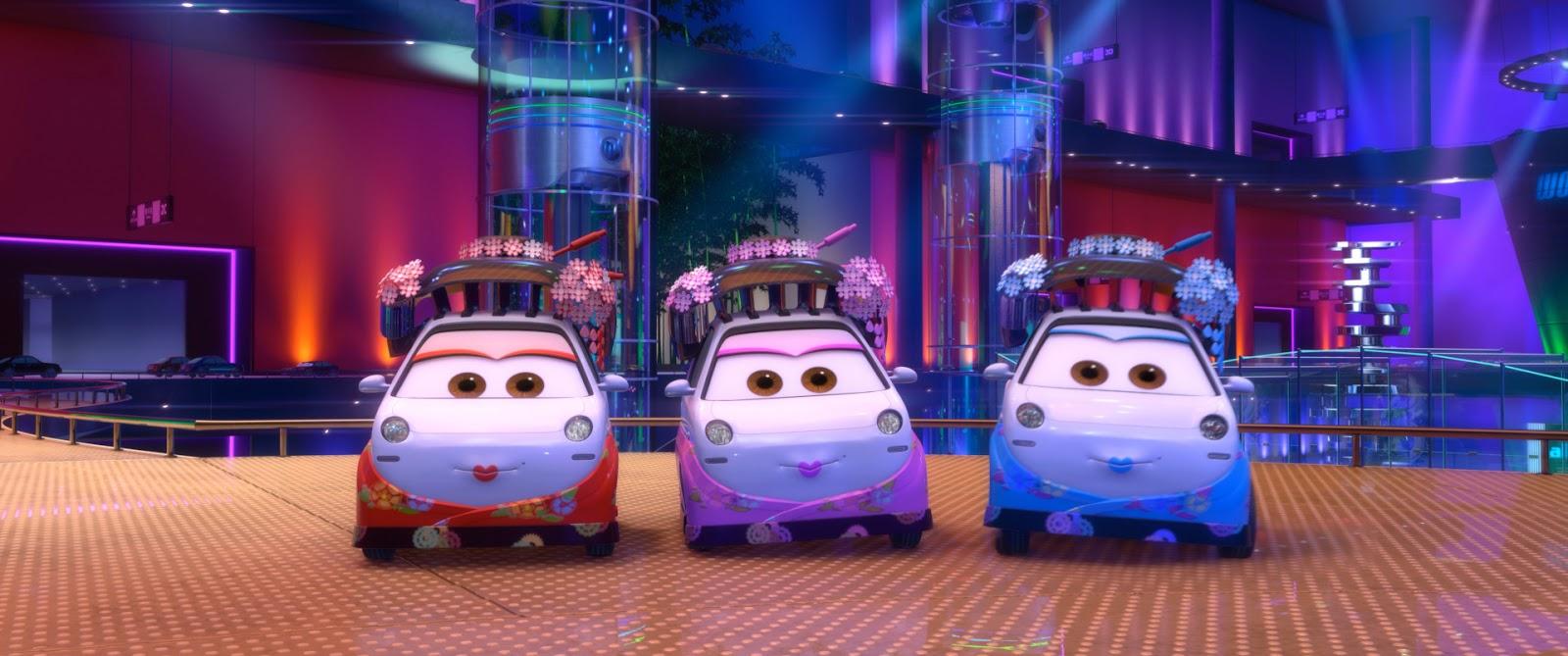 Dan the Pixar Fan: Cars 2: Okuni