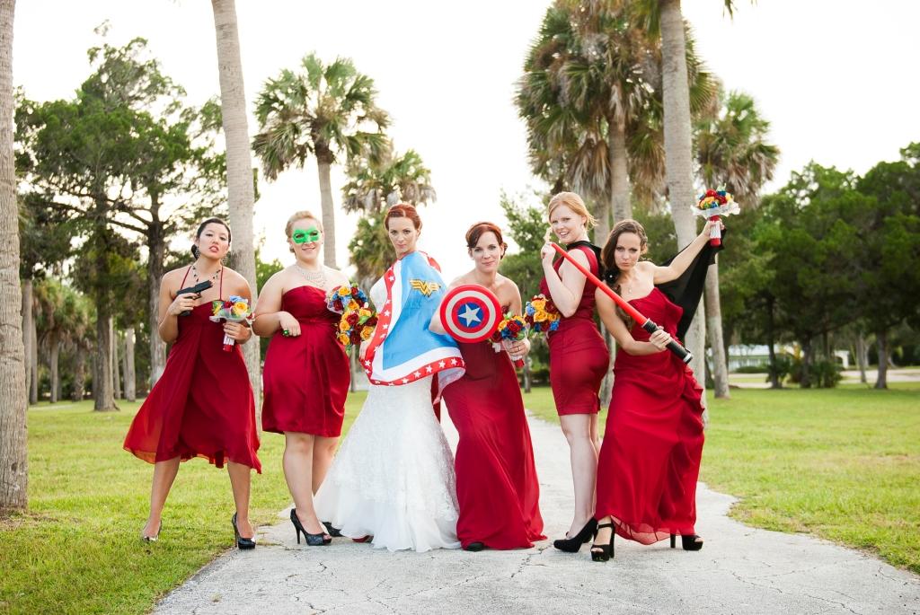 Superhero Themed Wedding Can It Be Elegant