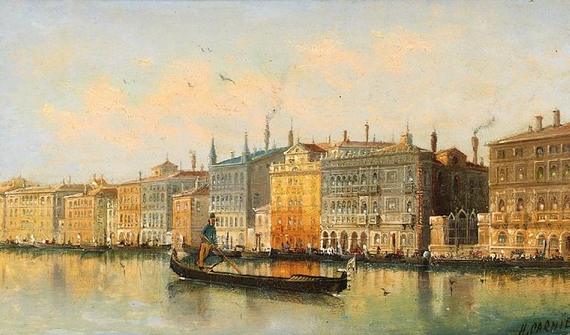Karl Kaufmann 1843-1901 | Venetian Scene painter