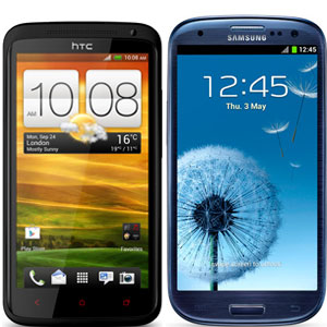Samsung Galaxy S III vs HTC One X+