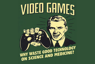 Violent video games good for health