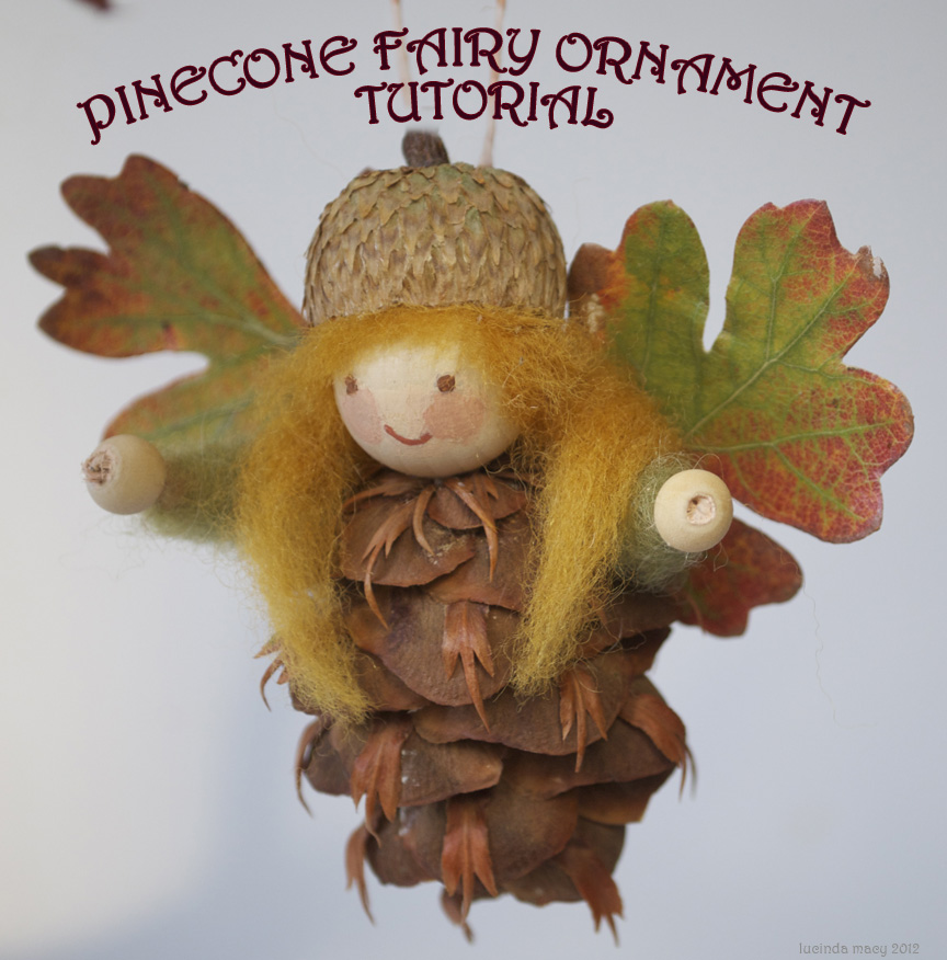 PINECONE FAIRY TUTORIAL