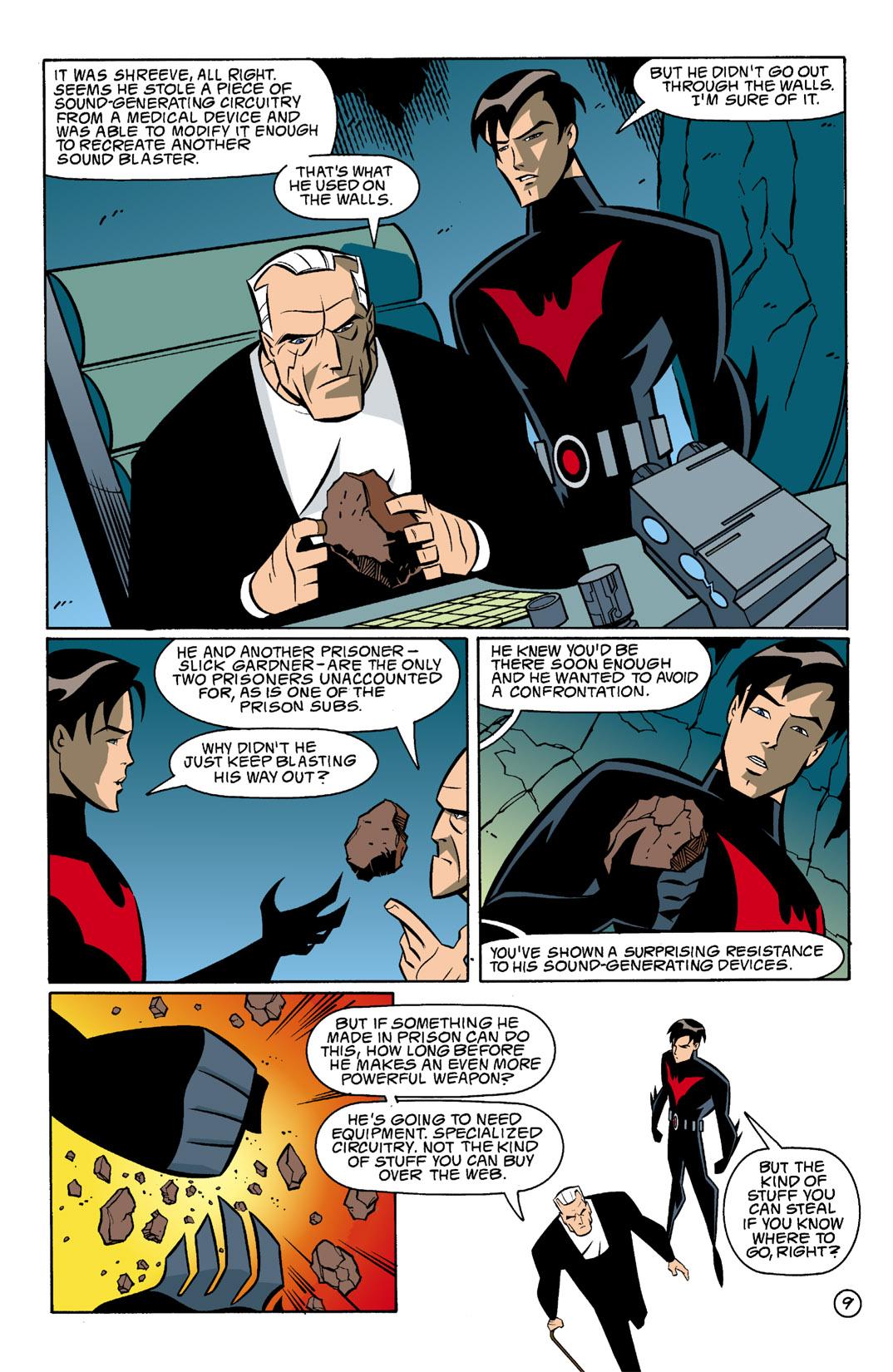 Batman Beyond [II] Issue #5 #5 - English 10