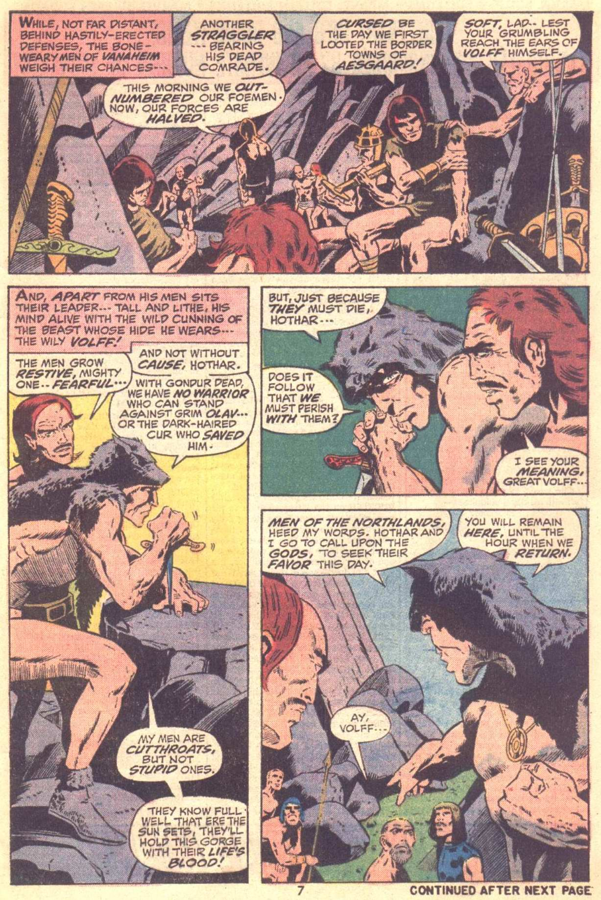 Conan the Barbarian (1970) Issue #22 #34 - English 7