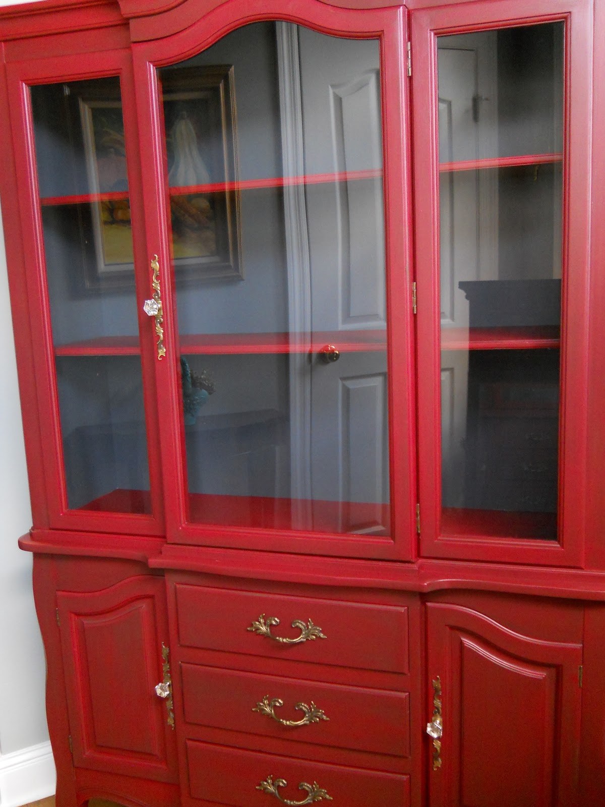 Dreamingincolor Painted Hutch Before And After