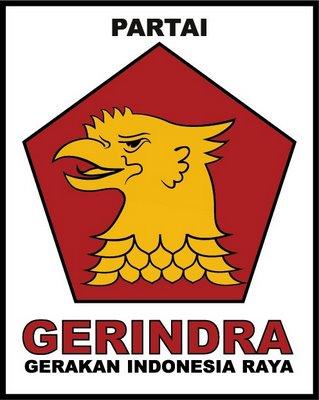 Logo Partai Gerindra Pemuda Pancasila
