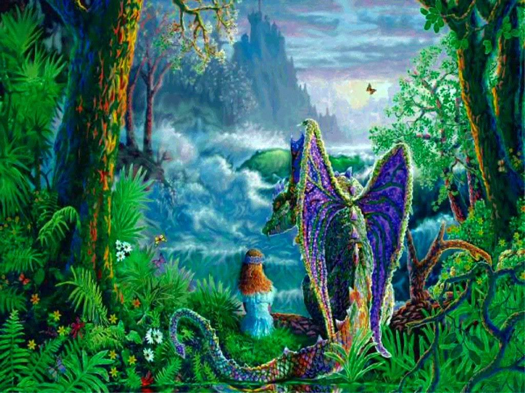 World of wonder dreams magical world - Magic land wallpaper ...