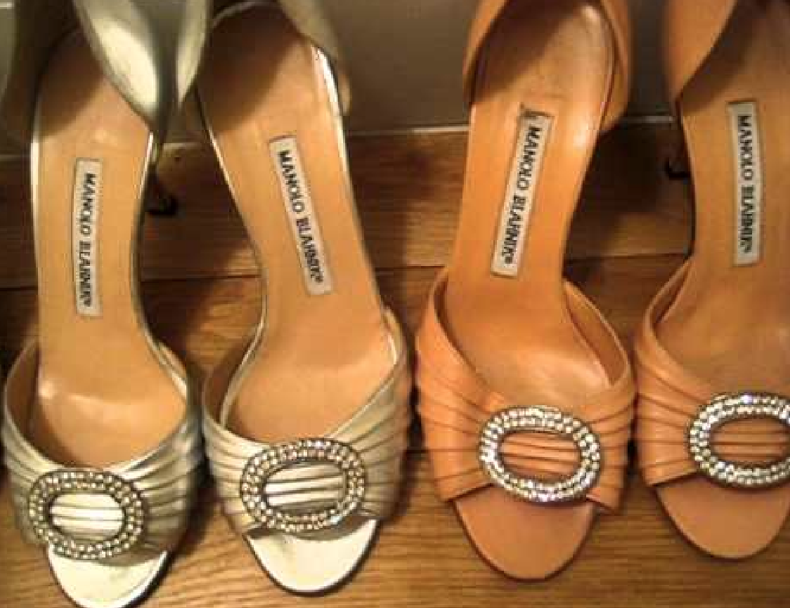manolo blahnik sample sale 2013