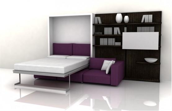 Interior Design 2012: Muebles 3 en 1, Armario Empotrado, Sofá y ...