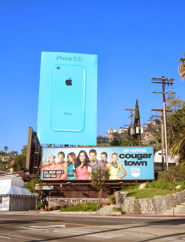 Cougar Town season 5 billboard