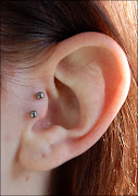 tragus piercingand it wouldn't be so obvious.