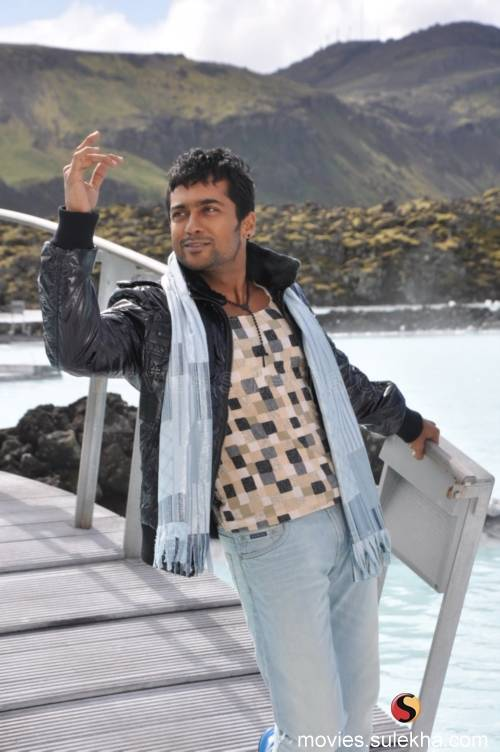 Surya's Aathavan movie 4