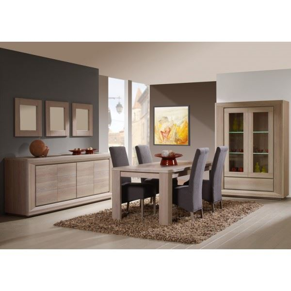 salle manger compl te conforama salle manger. Black Bedroom Furniture Sets. Home Design Ideas