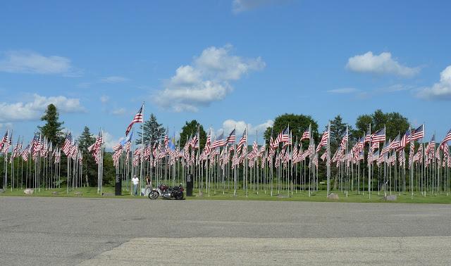 Memorial Day Flag Park