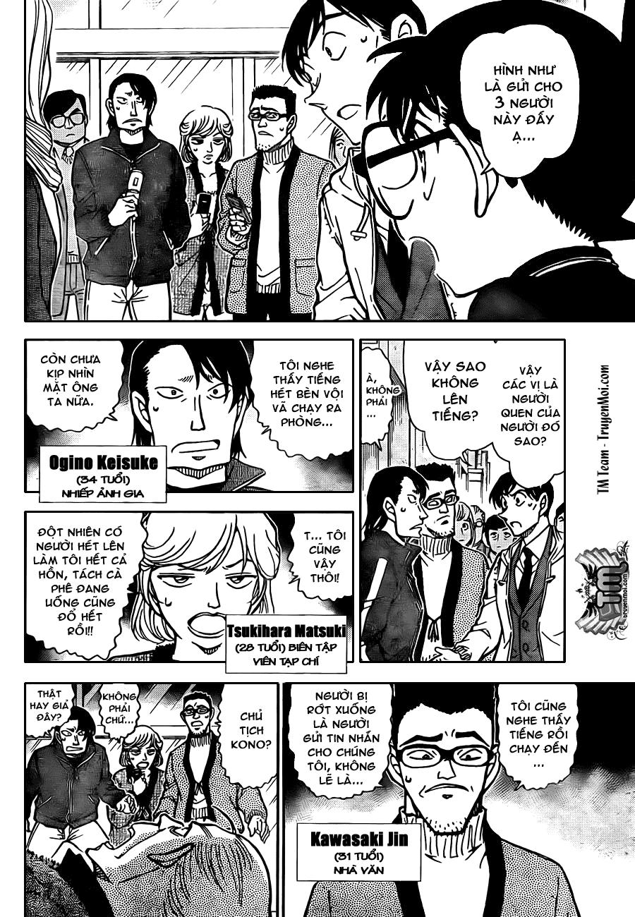 Detective Conan - Thám Tử Lừng Danh Conan chap 809 page 10 - IZTruyenTranh.com