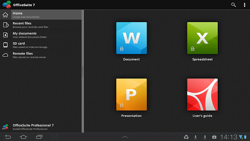 Application Name : OfficeSuite Viewer 7 + PDF&HD