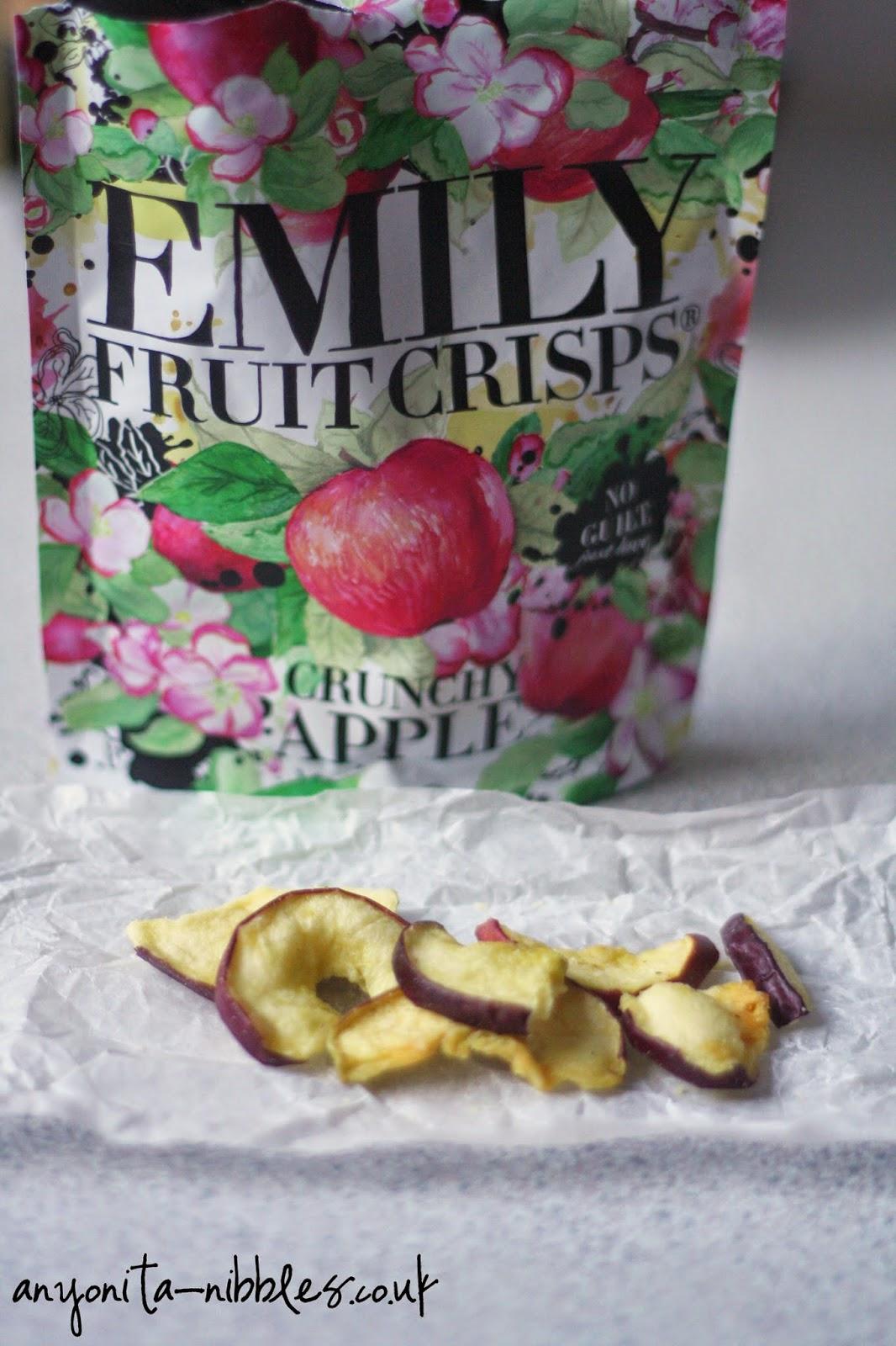 Crunchy Apple FRuit Crisps from Anyonita-nibbles.co.uk