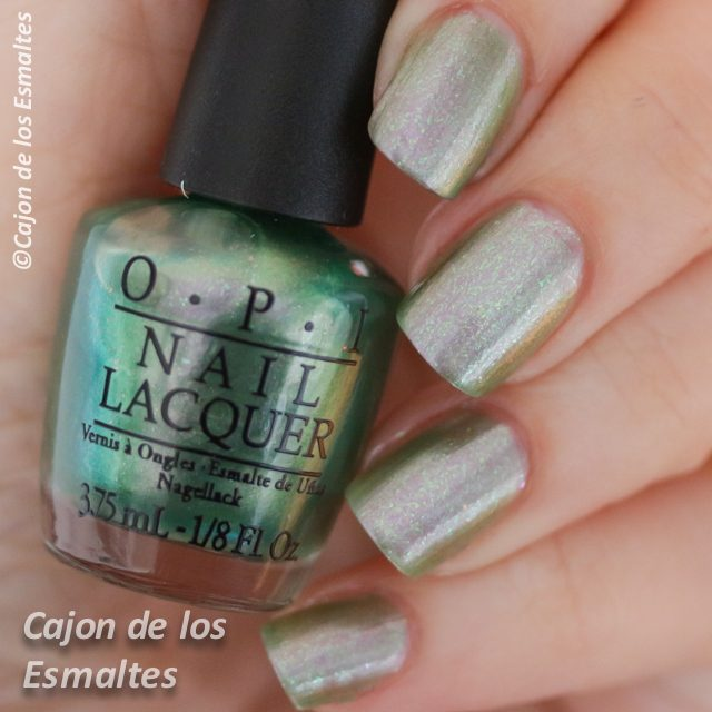 opi coca cola Visions of Georgia Green