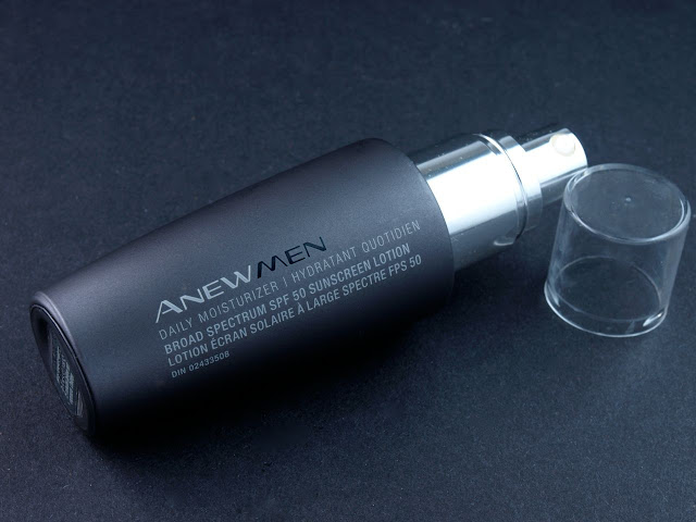 Avon Anew Men Daily Moisturizer Broad Specturm SPF 50 Sunscreen Lotion: Review