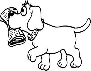 Coisinhas para crian as desenhos de cachorrinhos para colorir - Animale domestico da colorare pagine gratis ...