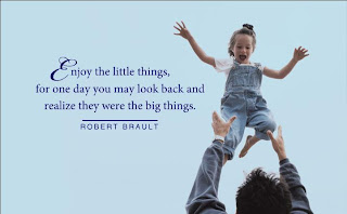 enjoy little things Daily Quote
