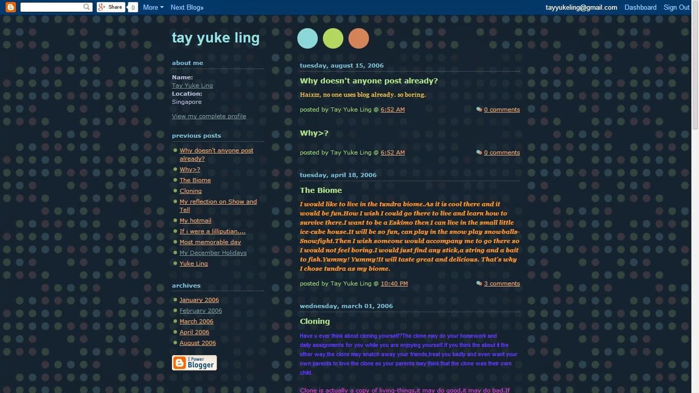 Primary 5 blog