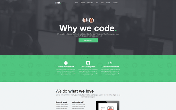 45 Best Bootstrap 3 New Themes And Templates Social