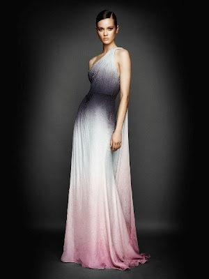 one shoulder floor-length special occasion dress