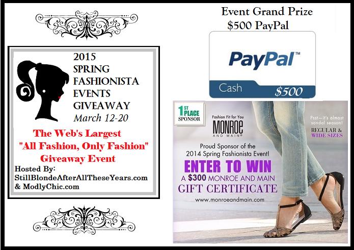 2015 Spring Fashionista Event
