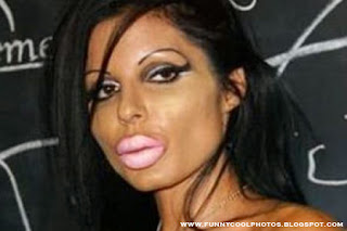 Beautiful Girls with different Lips