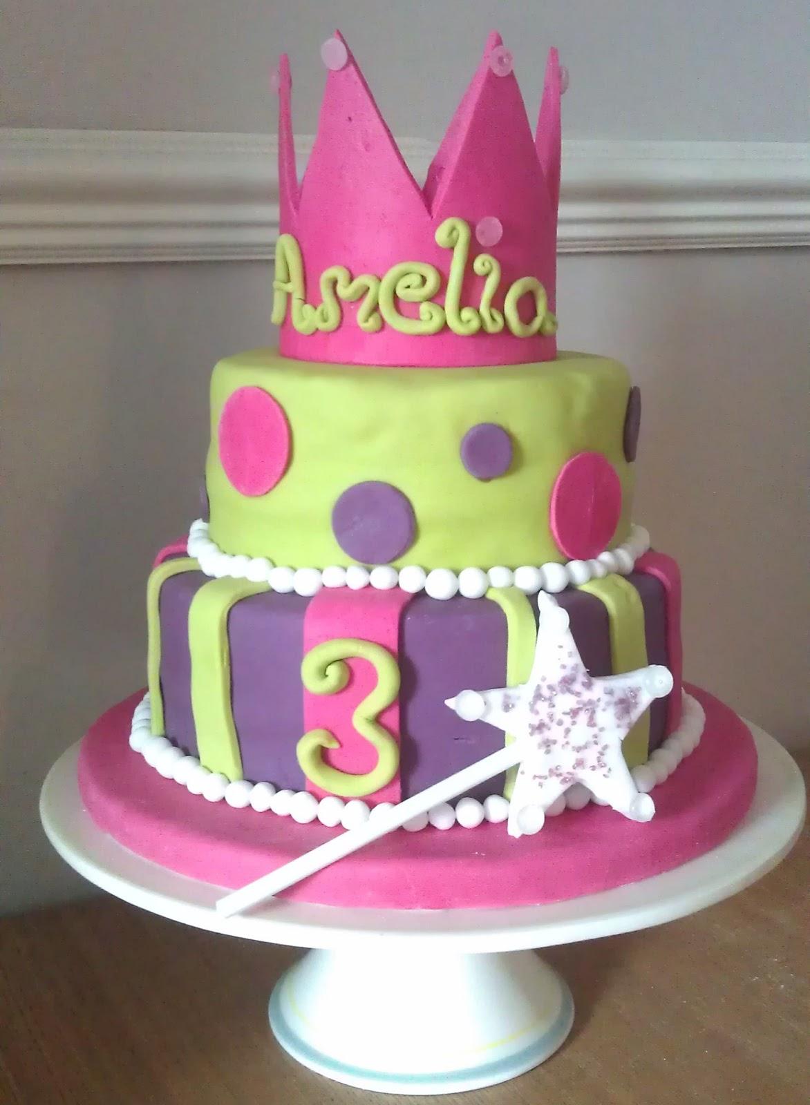 My Little Kitchen: Fairy Princess Birthday Cake