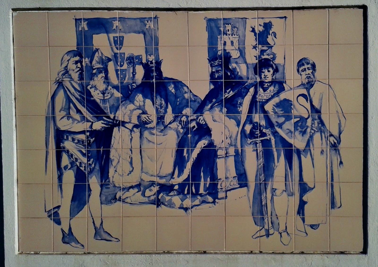 Viajar e descobrir portugal alcoutim mural de for Azulejos historia