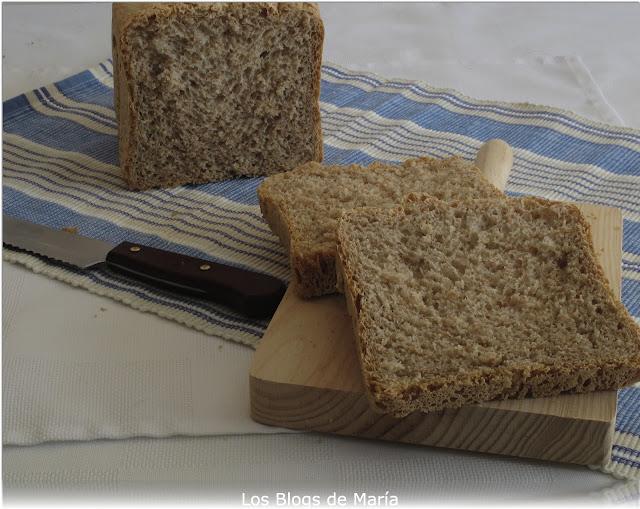 Pan de Espelta Integral en panificadora
