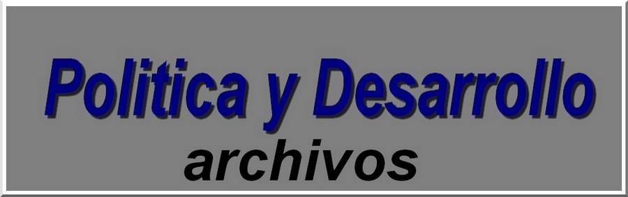 Archivos de Politica y Desarrollo