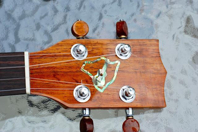 big island concert ukulele headstock
