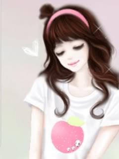 from Kane animated cute korean girl