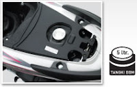 Honda Spacy Helm In PGM-FI