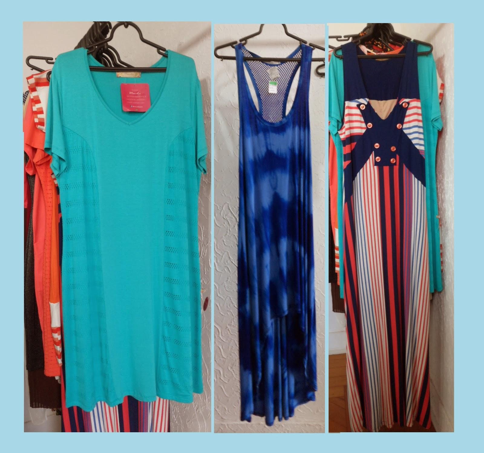 Vestidos plus size, Falsa Magra, Araras-SP