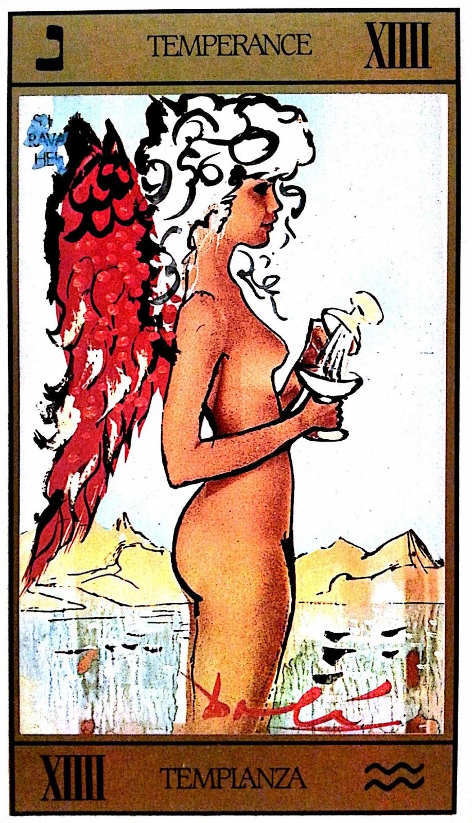 La Templanza- Tarot Dalí
