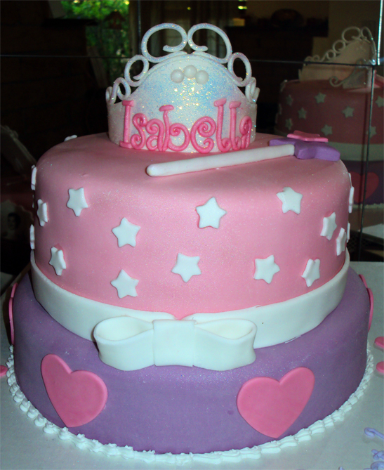 Cake Images Princess : Delana s Cakes: Princess Cake with Crown and Wand