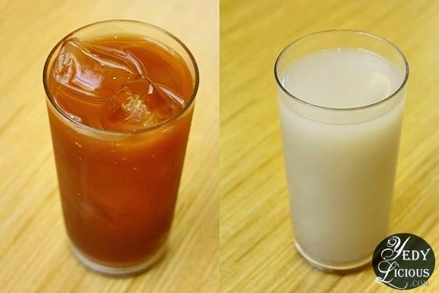 Iced Tea and Cold Barley Water at Tim Ho Wan Sm Megamall