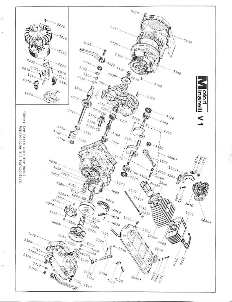 ob1 repairs  minarelli v1 service manual
