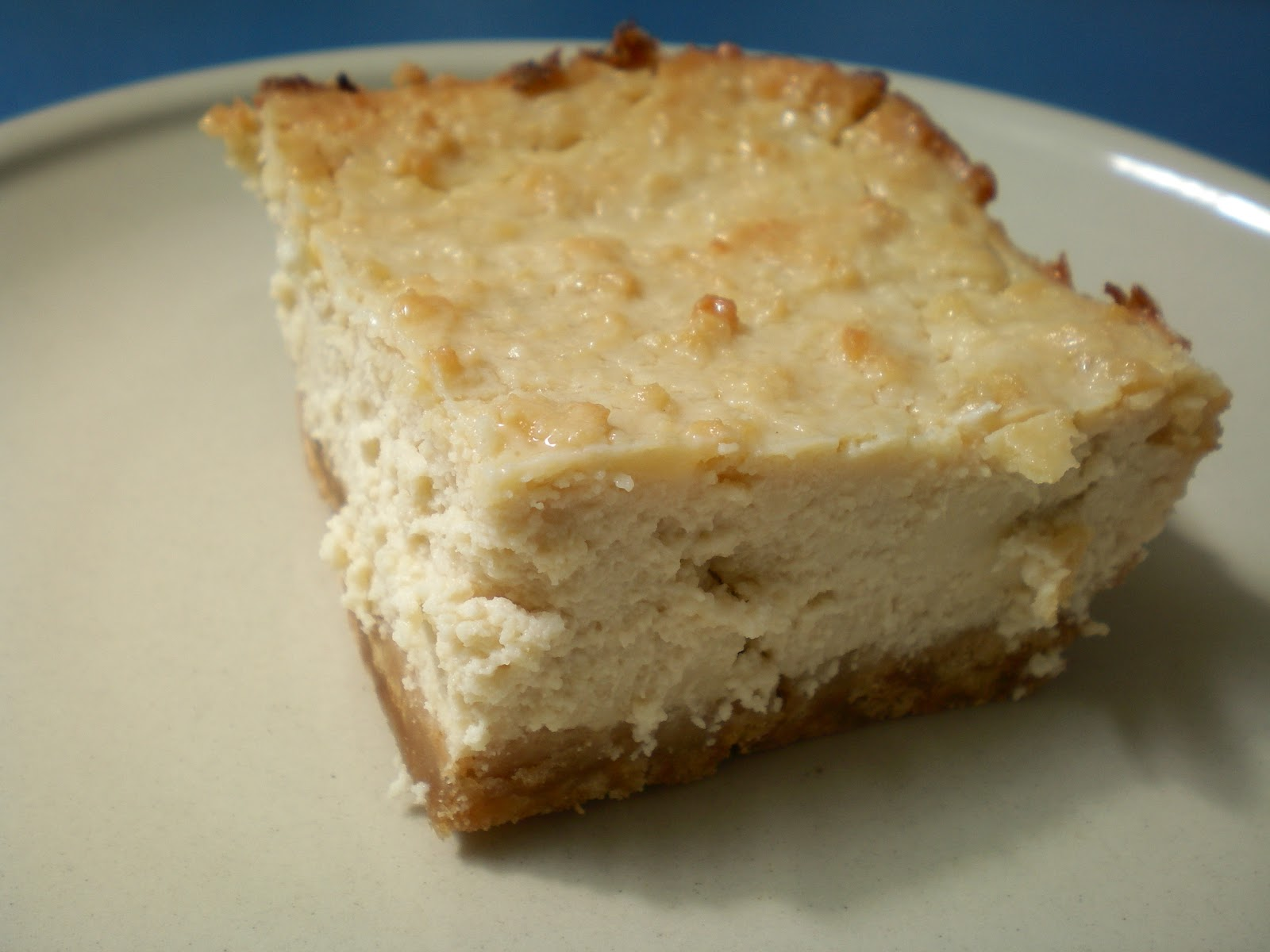 Kommoner: White Chocolate Cheesecake